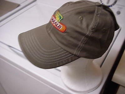"""Dekalb Hat Cap -""""putty Colored Twill"""" New-Famous Embroidered Logo"""