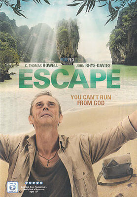 NEW Sealed Christian Widescreen DVD! ESCAPE (C. Thomas Howell, John Rhys-Davies)