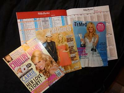 Carrie Underwood *Jesus Take The Wheel #1 Chart+Country Weekly+2 Industry Mags!