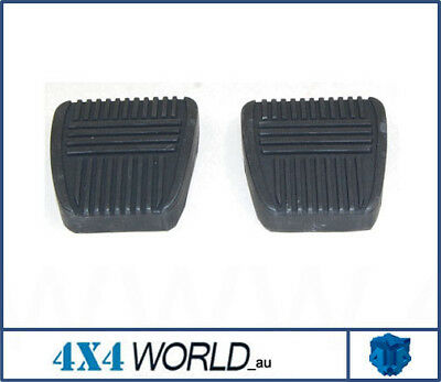 For Toyota Landcruiser HZJ75 FZJ75 Series Pedal Rubber Pad - Pair (2)