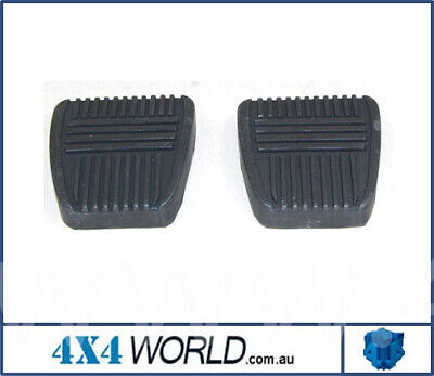 For Toyota Landcruiser HJ75 FJ75 Series Pedal Rubber Pad - Pair (2)