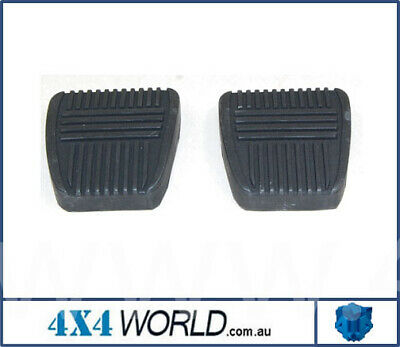For Toyota Landcruiser FJ80 FZJ80 Series Pedal Rubber Pad - Pair (2)