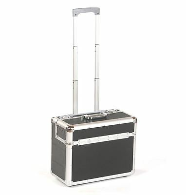Aluminium travel business flight pilot hand luggage case trolley suitcase bag bl