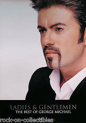 Wham! George Michael 1994 Best Of Promo Poster