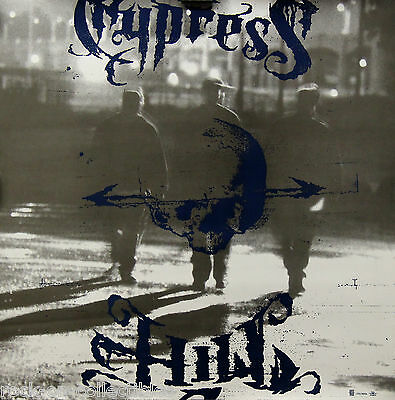 Cypress Hill 1995 Temples of Boom Original 2-Sided Promo Poster