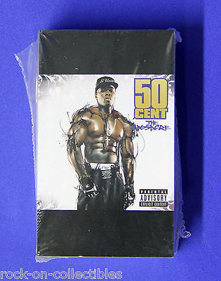 50 Cent 2005 The Massacre Sealed Package of Original Promotional Cards