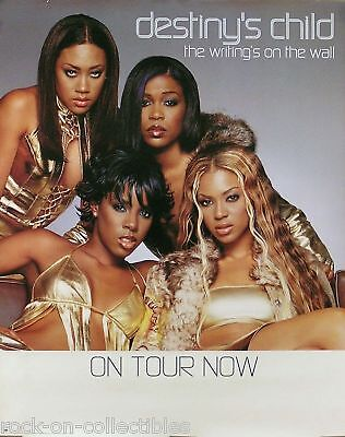 Destiny's Child 2000 Writing's On The Wall Original Tour Poster