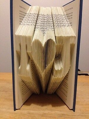 Folded Book Art Love Couple Custom Gift