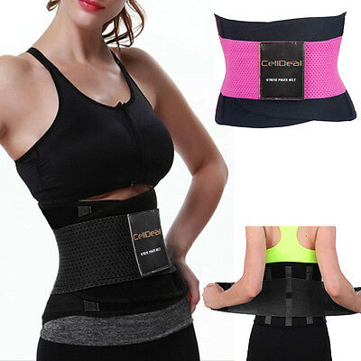 Sport Waist Cincher Girdle Belt Body Shaper Tummy Trainer Belly Training Corsets