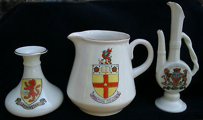 Shelley - Selection Of Crested China Items