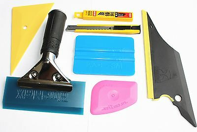 Useful 7 in 1 Car Window Film  Tools Squeegee Scraper Set Kit Car Home Tint