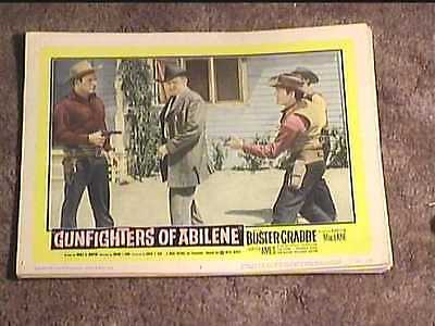 Gunfighters Of Abilene 1959 Lobby Card #6 Western
