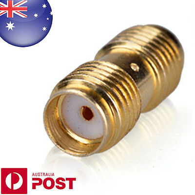SMA-F to SMA-F Straight Adaptor Connector Gold Plated for Radio Joiner - Z125C