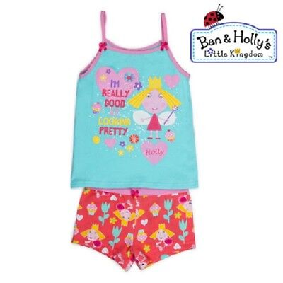 New Ben And Holly Girls Underwear Set Singlet Top Brief Undies Size 2-3,3-4,4-6