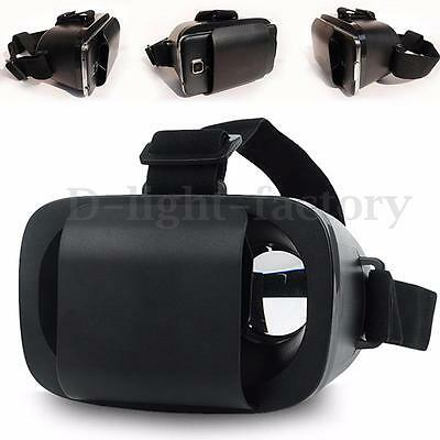 3D Virtual Reality Box Glasses Headset Game Helmet For 4.7-6 inch Mobile Phone