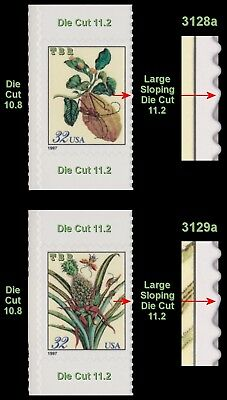 3128a 3129a Merian Botanical Scarce Sideways Variety Set From BK261 MNH -Buy Now