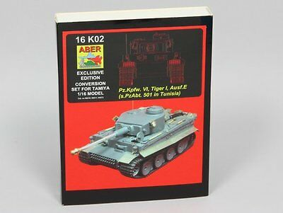ABER® 16K02 Exclusive Apgrade for Tamiya Pz.Kpfw.VI, Tiger I in Tunisia in 1:16