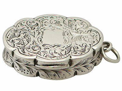 Sterling Silver Vinaigrette - Antique Victorian