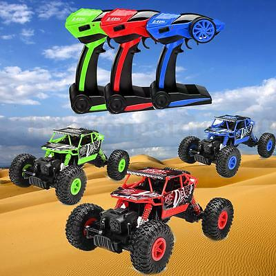 2.4Ghz 1/18 Rock Crawler Drive Remote Control RC Car Toy Model Off-Road Vehicle