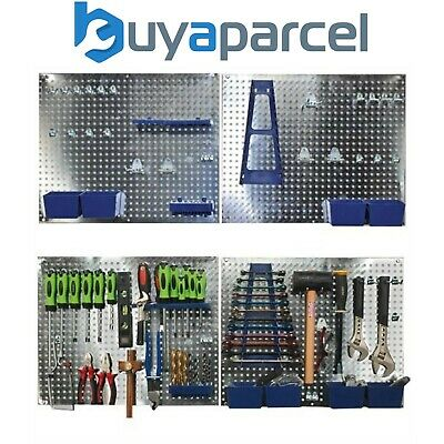 Sealey 34pc Wall Tool Storage Garage Shed Pegboard Set S01102