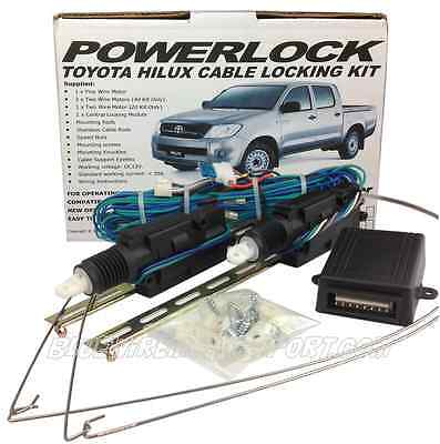 Toyota Hilux 2005-2014 Workmate 2 Door Cable Central Locking System