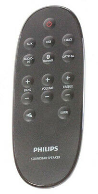 Genuine Original Remote Control for Philips HTL2160/12 Soundbar speaker