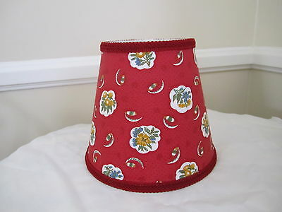 Last1s red gold petite ferme rooster french country toile lamp pierre deux red rouge avignonet french country toile lamp shade fleur chandelier aloadofball Choice Image