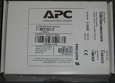 Lot of 10 APC 7P 3.5mm Plug 8P Micro-Fit Cable CPW012 Ericsson 500-0013-001 NEW