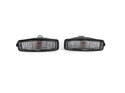 JDM Flat Type Crystal Clear Side Marker Lights For 1994-2002 Honda Accord CD6
