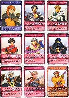 Genso Suikoden - Card Stories LOT of 27 A [EX-NM] - Cleo Gremio - Konami TCG CCG