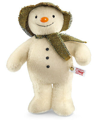 Steiff The Snowman limited edition-EAN 664557- the ultimate Snowman collectable!