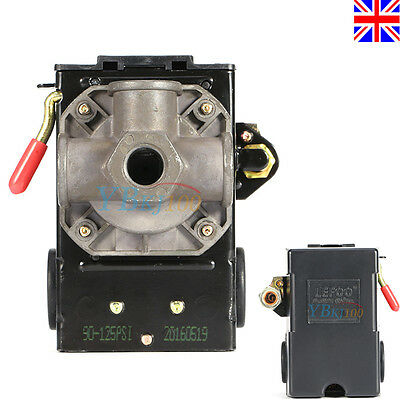 Hot Pressure Control Switch Valve For Air Compressor Replaces 1 Port Max.125 PSI