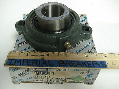 * New - Dodge Set Screw & Eccentric Collar Mounted Ball Bearing   124650  Ye-634