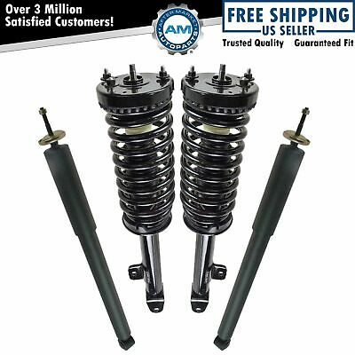 Shock Strut Spring Assembly Front Rear Kit Set of 4 for 300 Charger RWD New