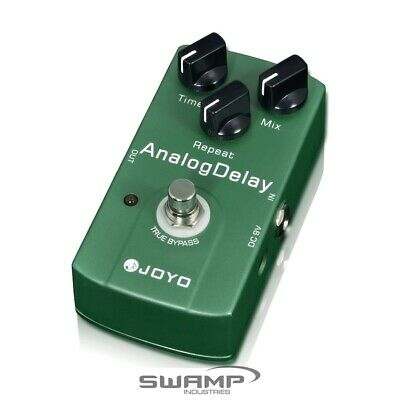 JOYO JF-33 Analog Delay Guitar Effect Pedal - Classic Delay and True Bypass