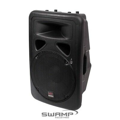 "SWAMP 12"" Powered PA Speaker Active Foldback Monitor - Bi-Amped 150W + 30W RMS"