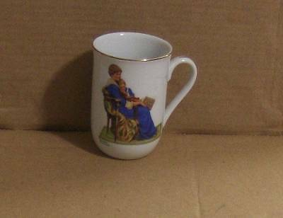 "Norman Rockwell Museum Collection ""Bedtime"" Coffee Cup/Mug 1982"