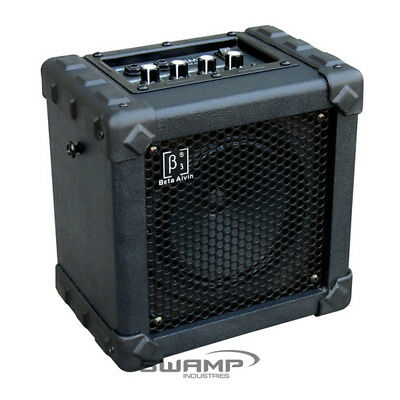 Beta Aivin Guitar Amplifier Amp with Distortion and EQ - 5W - Battery Powered