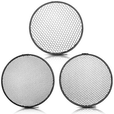 "Neewer 6.6"" Honeycomb Grid Set with 7"" Standard Reflector Diffuser"