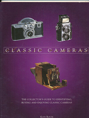 """Kate Rouse libro """"Classic Cameras"""" 2002 in inglese   D811"""
