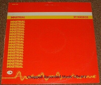 MUSIC LIBRARY CHAPPELL industrial RHODOS 1983 UK STEREO LP