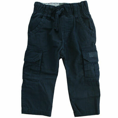 Timberland Kids Toddlers Boys Navy Regular Fit Pants Trousers T0086 408 R20