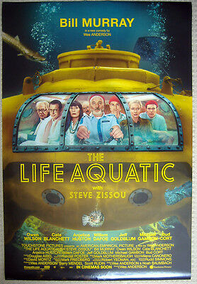The Life Aquatic with Steve Zissou (2004) D/S 1-SHEET POSTER (WES ANDERSON)