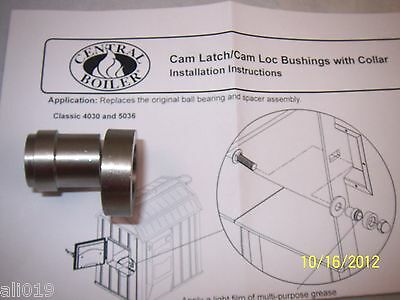 Central Boiler Door Cam Latch/Cam Loc Bushings with Collar Classic  Replacement