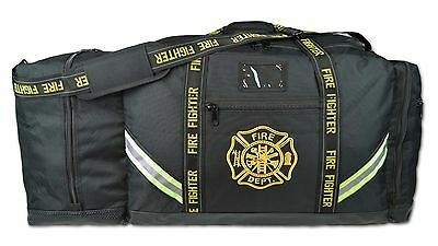 Lightning X Premium 3XL Firefighter Rescue Step-In Turnout Fire Gear Bag LXFB10B