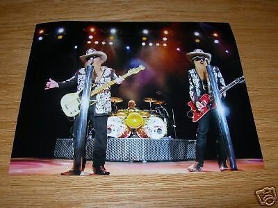 ZZ Top Live 8x10 Concert Photo Group #4 Billy  Gibbons