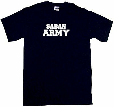 Saban Army Kids Tee Shirt Boys Girls Unisex 2T-XL