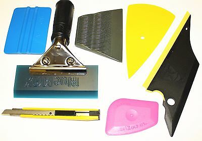 Useful 7 in 1 Car Window Film Tint Tools Squeegee Scraper Set Kit Car Home Tint