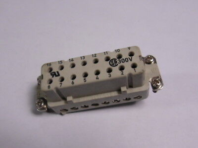 Generic Terminal Connector 16A 380V 16-Pos ! WOW !