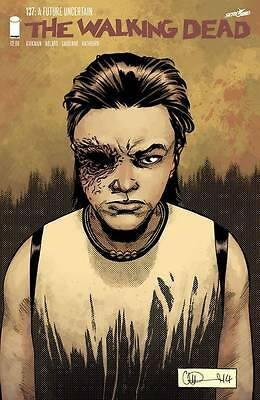 The Walking Dead #137 Image Comic Book First Printing Carl Grimes